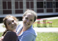 "Cali Newman '15 and Ally Mirin '15: ""Keep your friends close and your enemies closer."""