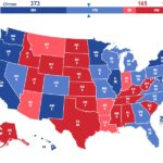 Projected Electoral College: Clinton vs. Trump