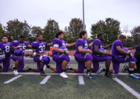 For the Garfield High School football team in Seattle, the anthem is anathema. (Image provided)